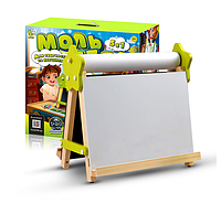 Мольберт дитячий настільний 5в1 для малювання та навчання
