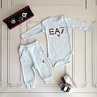 Костюм для новорожденных Armani -  бодик, штаны.