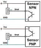 Безконтактний датчик рівня рідини XKC-Y25-NPN, 24в, фото 7
