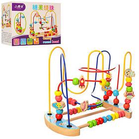 Деревянная игрушка Лабиринт на проволоке. В кор-ке