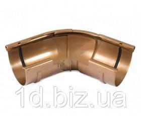 Угол внешний регулируемый водосточной системы Бриза (Bryza) 125 мм медный