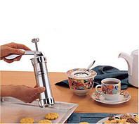 Кондитерский шприц пресс для печенья с насадками Biscuits