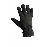 Перчатки мужские флисовые чорные Reis (Польша)