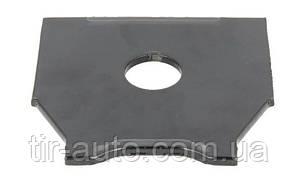 Пластина под кронштейн рессоры D30,2x120x125x5 ( BPW ) 0316435010