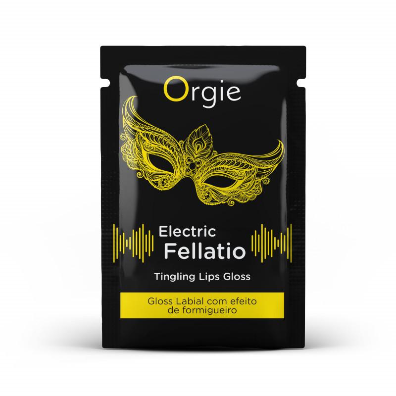 Блеск для губ с вибрацией Orgie ELECTRIC FELLATIO, 2 мл