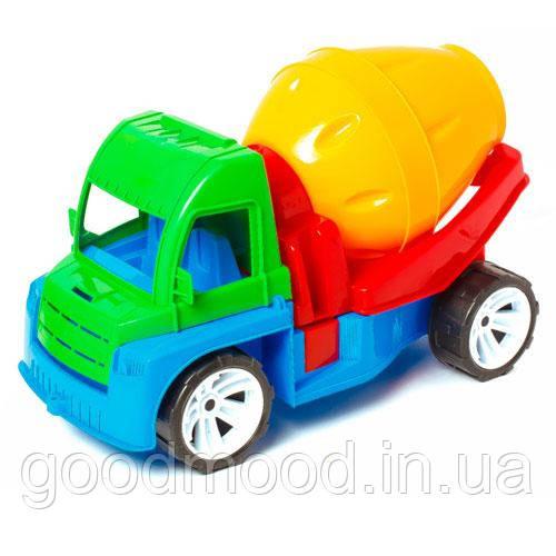 """Машина """"Алексбамс"""" бетономешалка (36*23*17см) 105 Бамсик"""