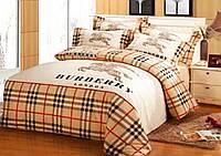 """Комплект постельного белья двуспального размера """"Ranforce"""" Burberry"""
