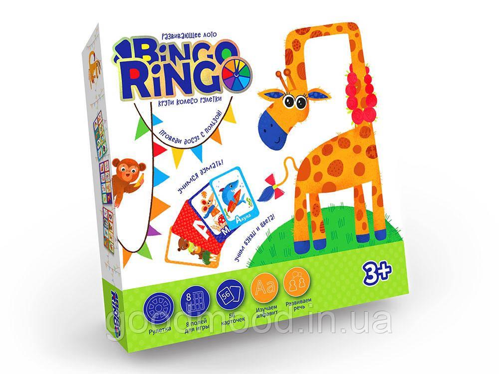 """Настільна гра """"BINGO RINGO"""" рос"""