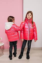 Детская куртка демисезонная для девочки Моника, на рост 122 по 152