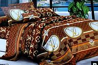 """Постельное белье Евро размер """"Ranforce"""" - Louis Vuitton"""