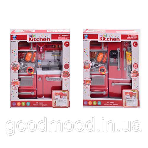 Мебель 66080-66080-2   кухня,29см,плита,посуда,продукты,зв,св,2вид,бат,в кор-ке,27,5-33,5-9,5см