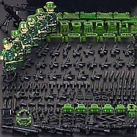 Набор из 6 фигурок камуфляжных спецназовцев солдаты аналог Лего Lego BrickArms