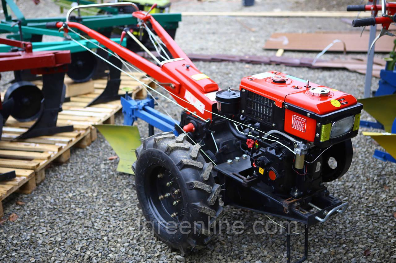 Мотоблок Булат ВТ1210Е (дизель 12 л.с.водяное охлажд.+электростартер)  5