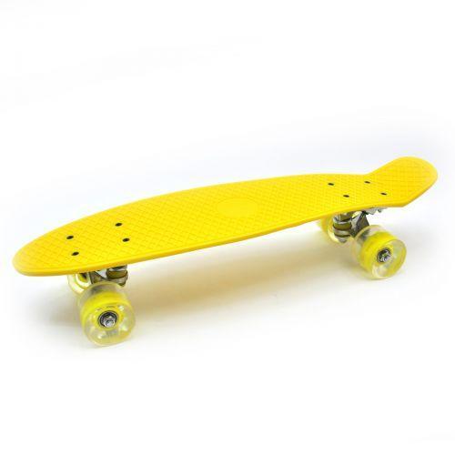 Пенни-борд, желтый 5358