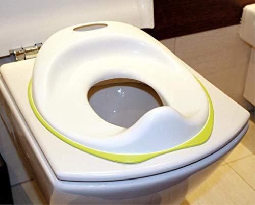 Сидіння для унітазу IKEA TOSSIG біло-зелене 102.727.88