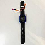 Часы наручные SKMEI с LED дисплеем. Цвет: синий, фото 4
