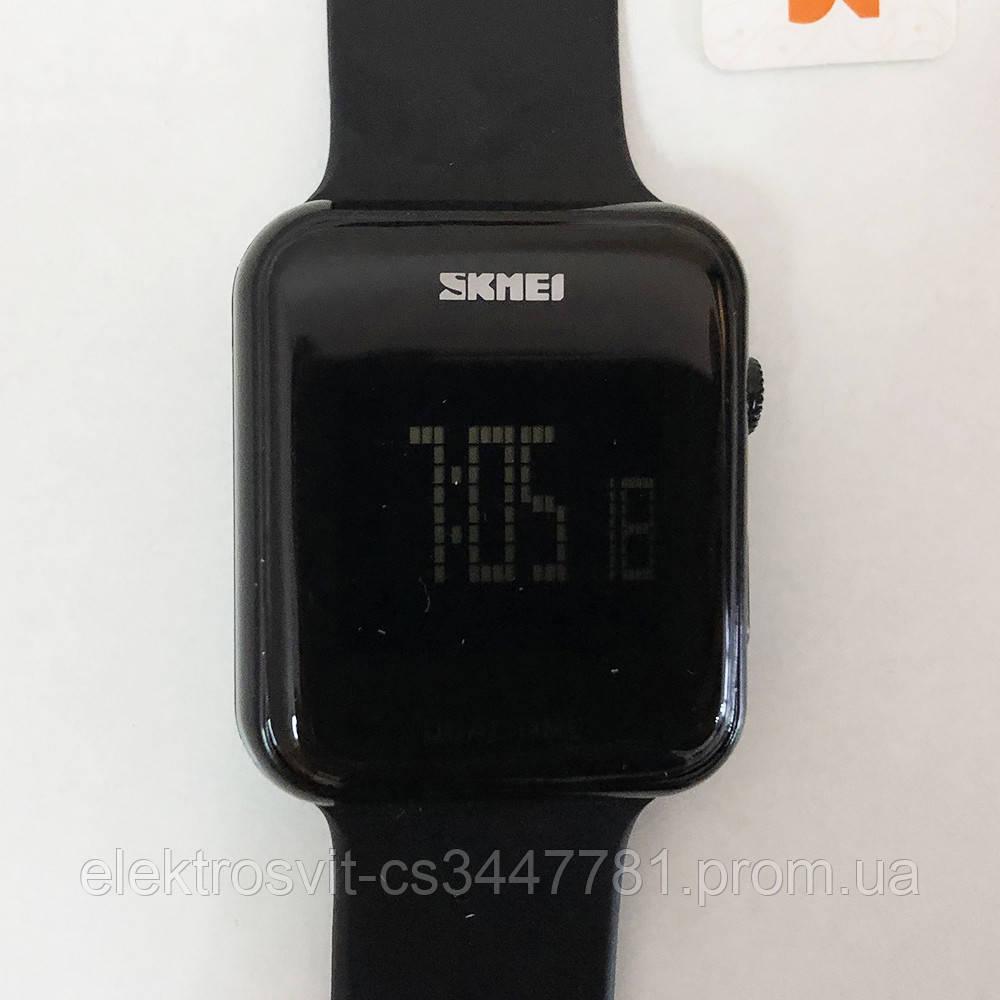 Часы наручные SKMEI с LED дисплеем. Цвет: черный
