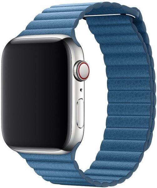 Кожаный ремешок Grand Leather Loop Band для Apple Watch 42/44 mm Cape Cod Blue (AL5189)