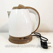 Электрочайник DOMOTEC MS-5025C - чайник электрический. Цвет: коричневый