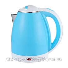 Чайник электрический DOMOTEC MS-5024. Цвет: голубой