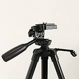 Штатив для камеры, телефона, трипод, тринога TriPod 380A 0.50-1.35м, фото 5