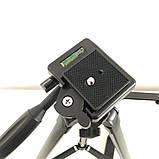 Штатив для камеры, телефона, трипод, тринога TriPod 380A 0.50-1.35м, фото 6