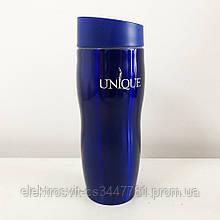 Термокружка UNIQUE UN-1071 0.38 л. Цвет: синий