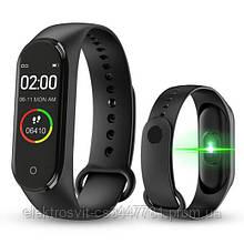 Фитнес браслет Smart Watch M5 Band Classic Black смарт часы-трекер. Цвет: черный