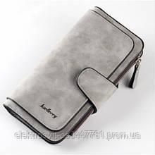 Женский кошелек клатч портмоне Baellerry Forever N2345. Цвет: серый