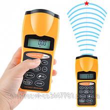 Лазерный дальномер (лазерная линейка) EcoTBH 3007 test distance (рулетка ультразвуковая)