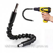 Гибкий магнитный удлинитель для отвертки и дрели Snake Bit