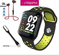 Смарт часы Smart Watch F8 умные наручные часы фитнес часы фитнес трекер зеленые