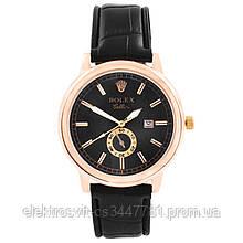 Часы наручные Rolex Black ремешок черный