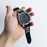 Часы наручные QUAMER, ремешок каучук. Цвет: оранжевый, фото 2