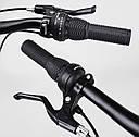 Детский спортивный двухколёсный велосипед 20 дюймов CORSO «T-REX» 20803 магниевая рама, 7 скоростей, фото 8