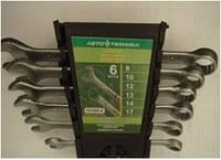 Набор ключей Автотехника в пластиковом холдере 6 шт 101060-К