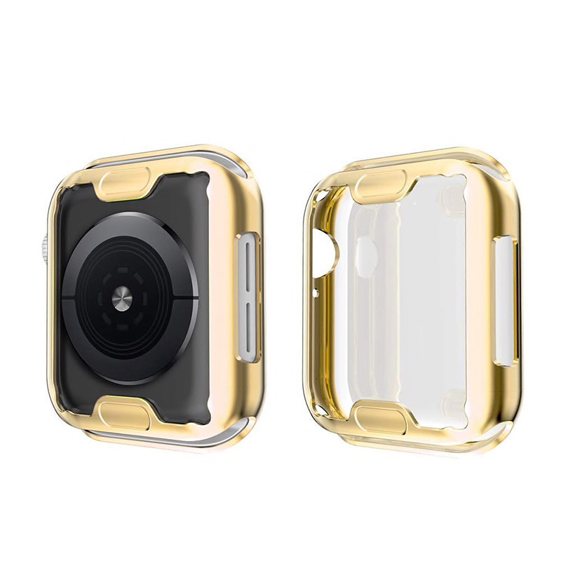 Чехол Grand Silicon Case для Apple Watch 44mm Gold (AL4295)