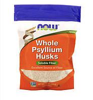 Псиллиум 454 гр NOW Foods (США) цельная оболочка семян подорожника, клетчатка, шелуха