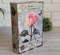 Книга-сейф Троянда 27 см