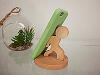Подставка-держатель для смартфона (деревянная)
