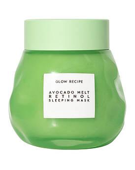 Ночная маска для лица с авокадо и ретинолом Glow Recipe Avocado Melt Retinol Sleeping Mask 70 мл
