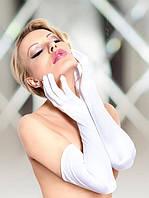 Перчатки Satin Gloves 7702 - white