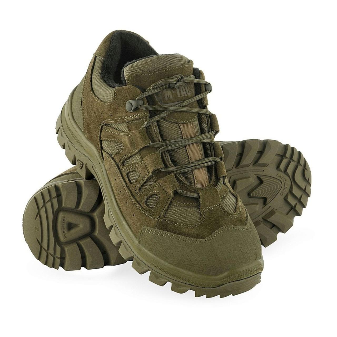 M-Tac кросівки зимові тактичні Leopard R Winter олива