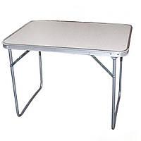 Раскладной стол туристический STENSON 80 х 60 х 70 см (MH-3089L) Белый