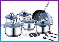 Набор кастрюль Banoo 18 предметов Набор посуды BANOO Germany