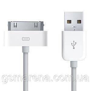 Кабель USB Apple iPhone 4, 4S Белый