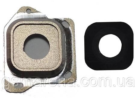 Стекло камеры Samsung A300 A3 Золотой, фото 2