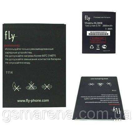 Аккумулятор Fly BL3808 2000mAh iQ456 Era Life 2, фото 2