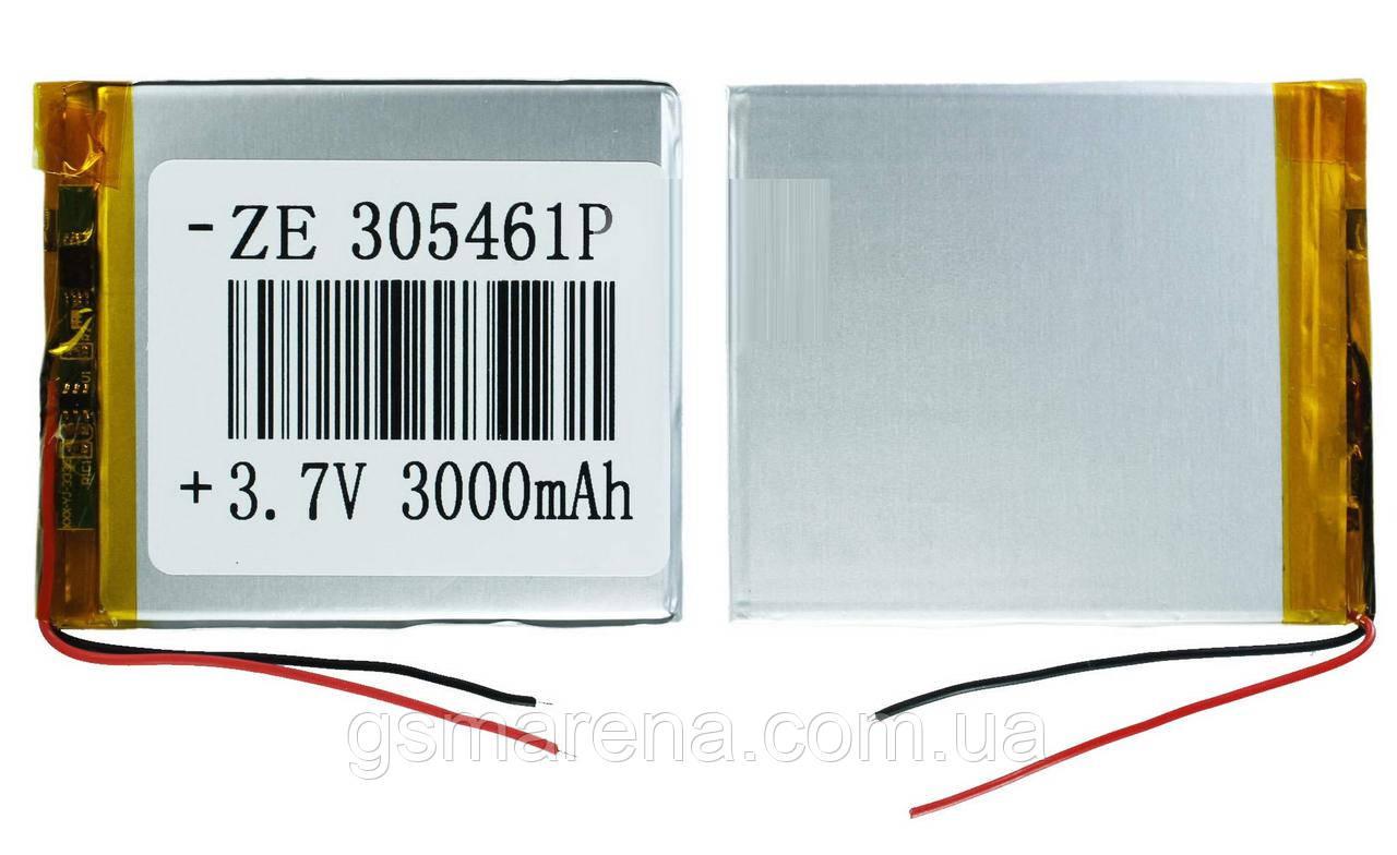 Аккумулятор универсальный 305461 5.4x6.1cm 3.7v 3000mAh
