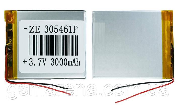 Аккумулятор универсальный 305461 5.4x6.1cm 3.7v 3000mAh, фото 2